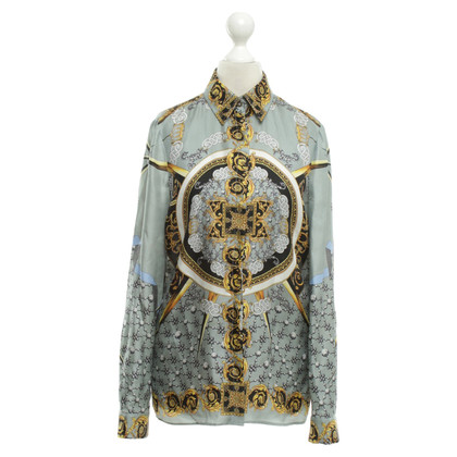 Versace Silk blouse with pattern