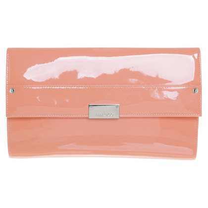 Jimmy Choo clutch in Apricot