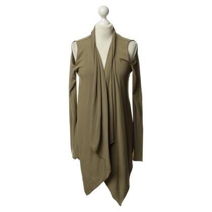 Donna Karan Cardigan in khaki