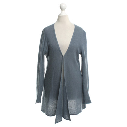Allude Cardigan in gray blue