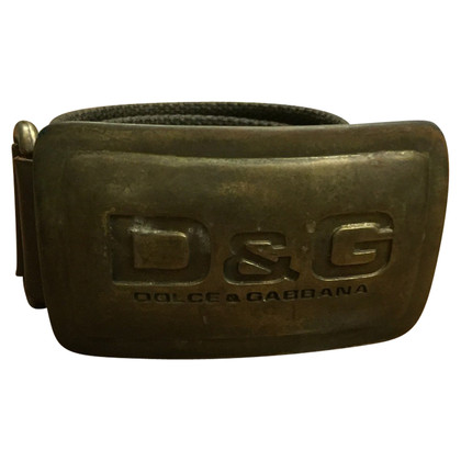 Dolce & Gabbana Sweet belt and brown gabbana