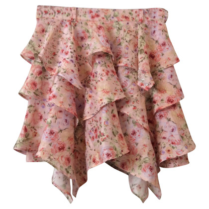 Blumarine Mini skirt made of silk