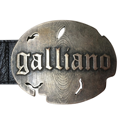 John Galliano Belt in vintage look