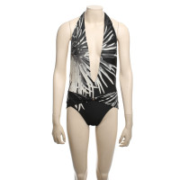 Hermès Swimsuit in black and white