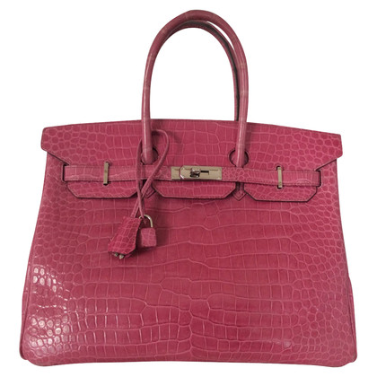Hermès Birken Bag 35 crocodile leather