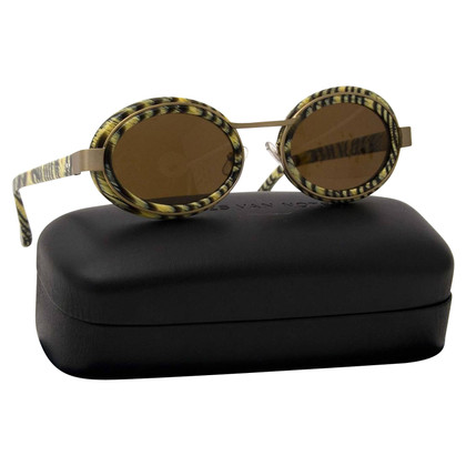 Dries van Noten Oval Sunglasses