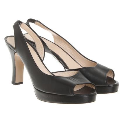 Max Mara Sandals in black