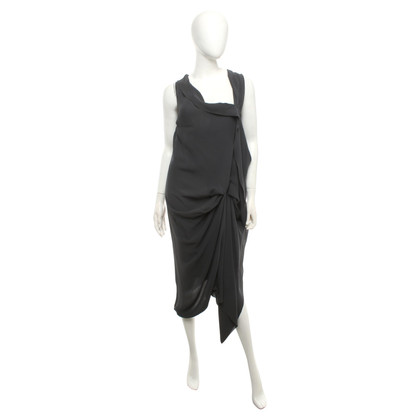Vionnet Silk dress with draping