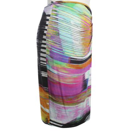 Escada Pencil skirt with colorful print