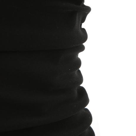Schwarz Kleid Adolfo Kleid Adolfo mit mit Drapierung Drapierung Schwarz Dominguez Dominguez OxdCwnq40q