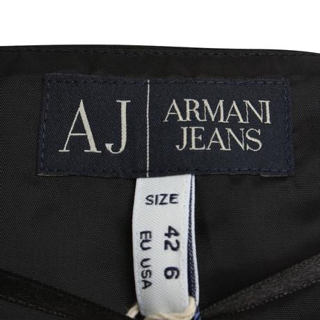 Schwarz in Armani Armani Jeans Kurze Jeans Weste Schwarz w0XdqFd