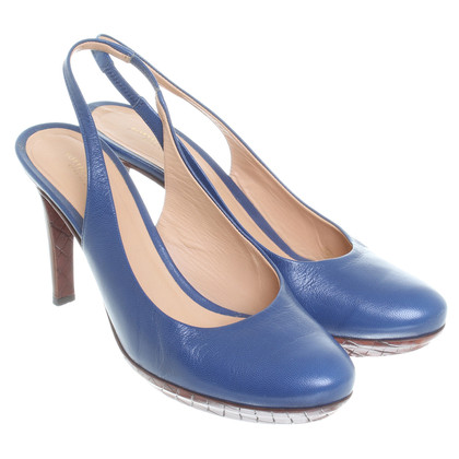 Bottega Veneta Slingbacks in Blau