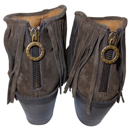 Fiorentini & Baker Suede boots with fringes