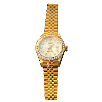 Rolex Yellow Date Lady Datejust