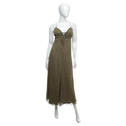 Ralph Lauren Olive silk dress