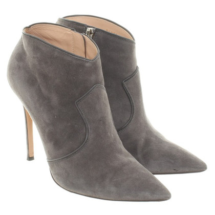 Gianvito Rossi Ankle Boots in Gray