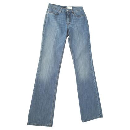 Escada Mittelblaue Jeans
