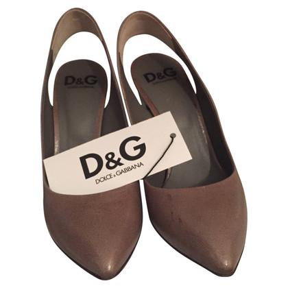 Dolce & Gabbana Décolleté open behind