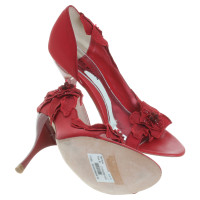Karen Millen pumps in het rood