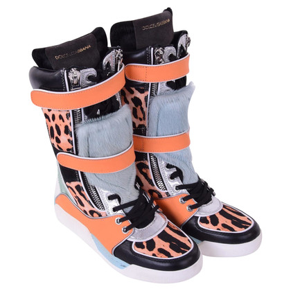 Dolce & Gabbana Boots in sneakers look