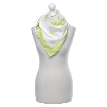 Aigner Silk scarf with print motif