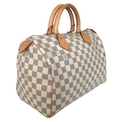"""Louis Vuitton """"Speedy 30 Damier Azur Canvas"""""""