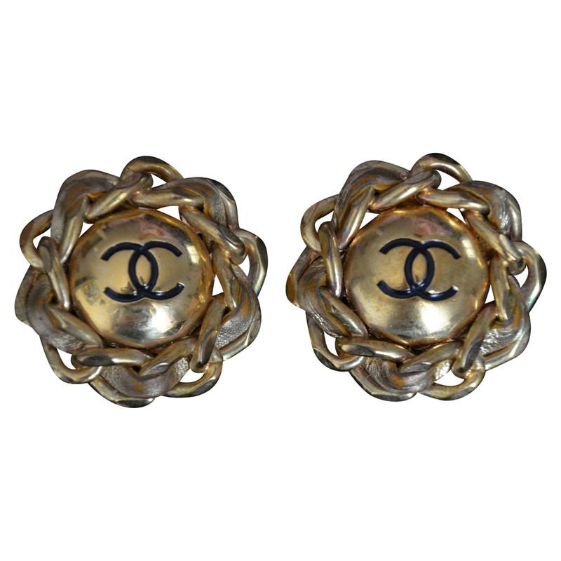 Chanel ohrringe second hand