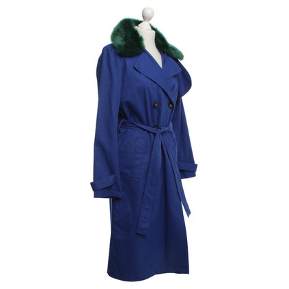 Other Designer Essentiel - Trenchcoat in blue