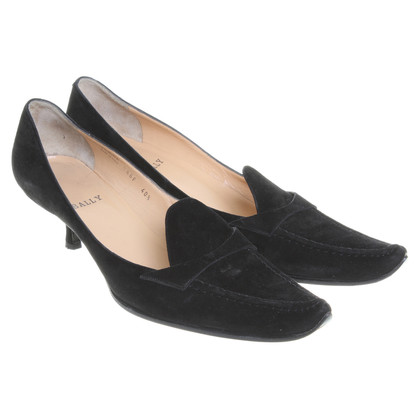 Bally Wildleder-Pumps in Schwarz