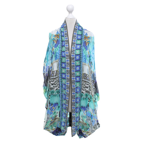 huge selection of 16fa8 029be Camilla Tunica di seta con motivo - Second hand Camilla ...