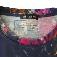 Balmain T-shirt met kleurrijke motieven