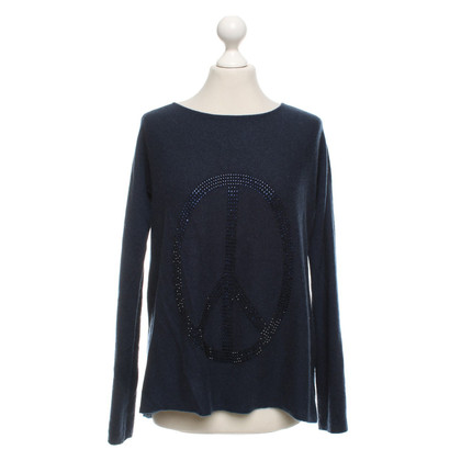ROSA VON SCHMAUS Cashmere sweater in dark blue