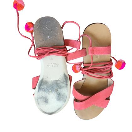 J. Crew Sandalen mit Bindebändern