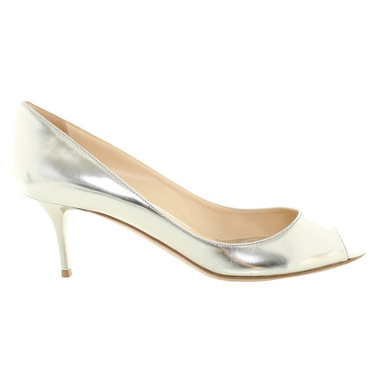 Jimmy Choo pumps in zilverkleur