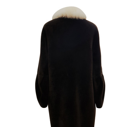 Dorothee Schumacher Pelle di pecora cappotto in marrone