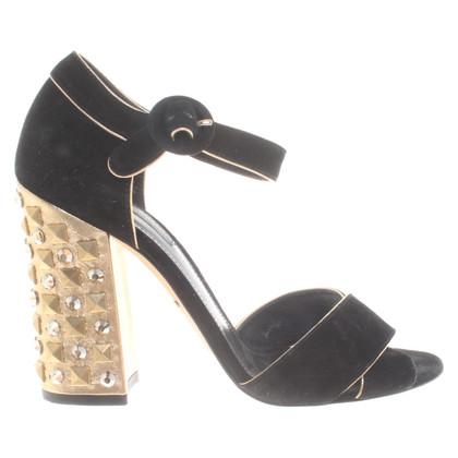 Dolce & Gabbana Sandaletten aus Wildleder