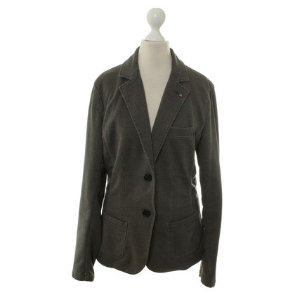 Blonde No8 Jersey Blazer with pattern