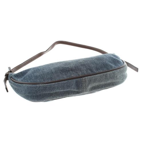 Fendi Handtasche im Jeans-Look Bunt / Muster