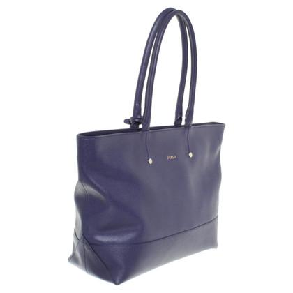 Furla Handtasche in Blau