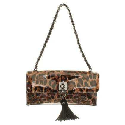 Moschino Love Borsa con Leopard Print