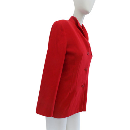 Giorgio Armani Rote Jacke