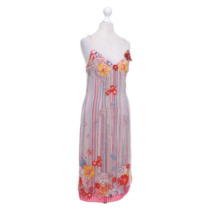 Karen Millen zijden jurk met patroon