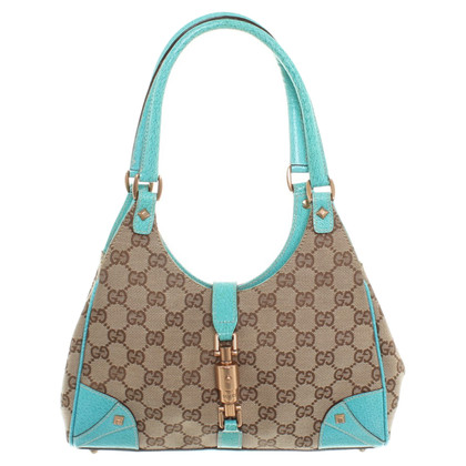 Gucci Handbag with Guccissima patterns