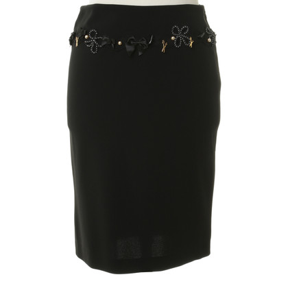 Moschino Evening skirt with application