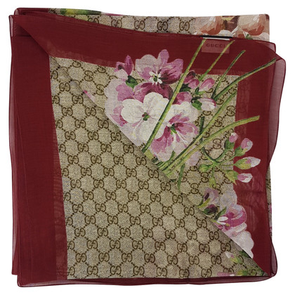 """Gucci """"GG Blooms"""" scarf"""