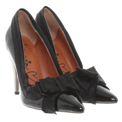 Lanvin for H&M Pumps aus Lackleder