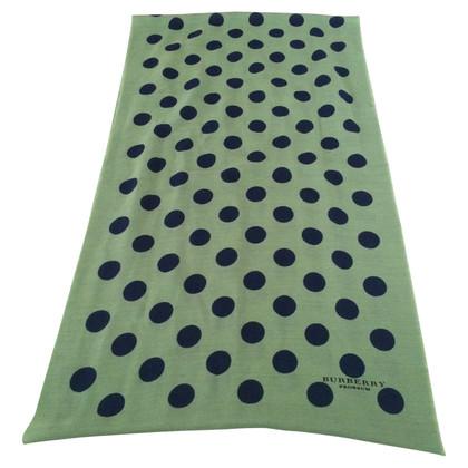 Burberry Prorsum sjaal patroon