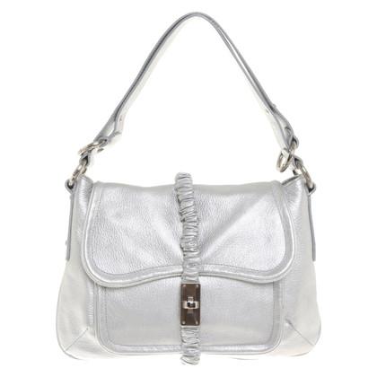 Armani Handtasche in Silberfarben