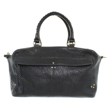 "Jerome Dreyfuss ""Raoul Bag Large"" en bleu de minuit"