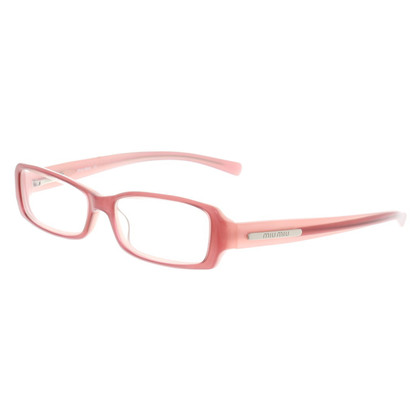 Miu Miu Brille in Rosa